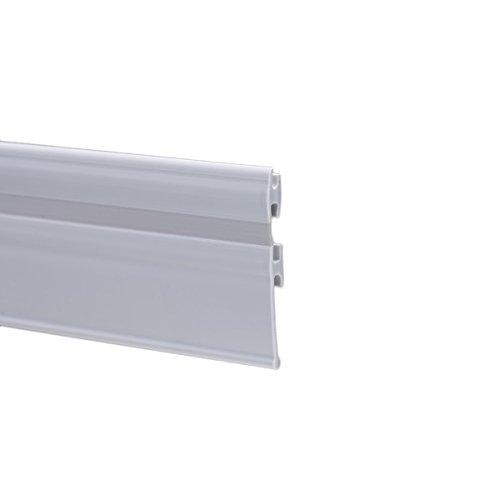 200cm EC-739 Profilo Maniglia per Box Doccia con Porta a Soffietto Colore GRIGIO