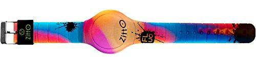 Orologio digitale ZITTO FLUO in silicone multicolor CAMOBLUE-MAX-GH