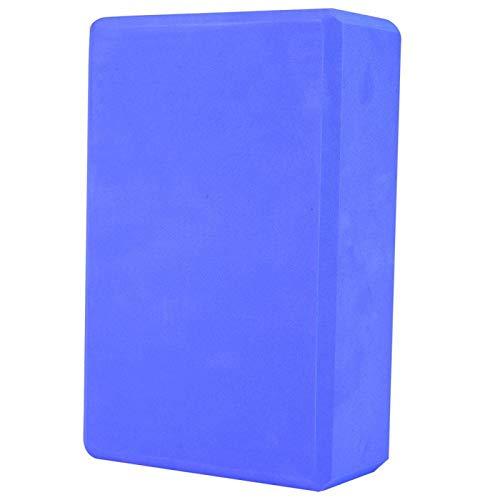 Jingyig Yoga Brick, EVA Yoga Block, 9.1 * 5.9 * 3in Herramienta de Ejercicios para Ejercicios(Blue)