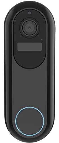 Video Türklingel ProV1 v. Weber Protect GmbH. WLAN Türsprechanlage inkl. Wireless Klingel mit App Steuerung. Gegensprechanlage, Bewegungserkennung, Nachtsicht, Keine Cloud, Keine Abos.