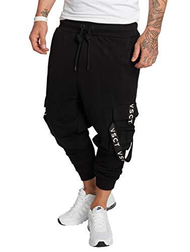 VSCT Clubwear Herren Jogginghosen Cargo schwarz M
