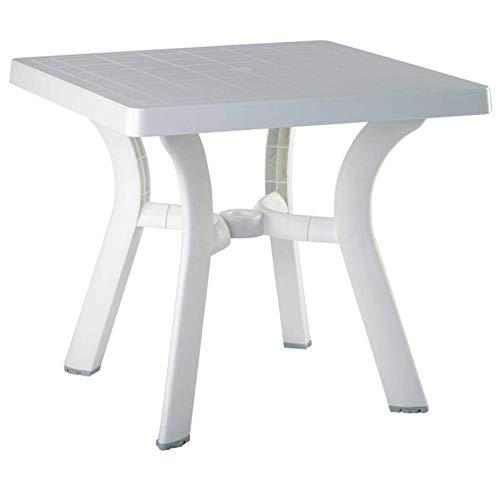 square resin table - 8