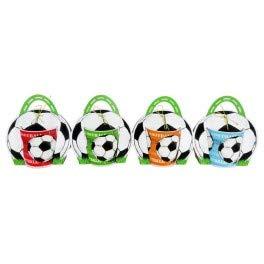 Taza Fútbol en Bolsa de Regalo - Detalles Originales para Invitados de Bodas, Regalos Baratos para Comuniones y Cumpleaños Infantiles