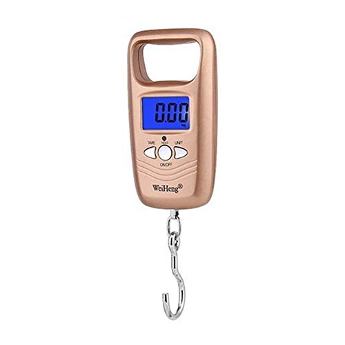 Travel Luggage Scale Digital Hanging Luggage Scale Travel Accessories 50kg Electronic Digital Suitcase Travel Bag Hanging Weighing Scale (A)