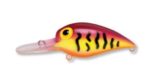 Storm Original Wiggle Wart 05 Fishing Lure, Purple Tiger by Storm