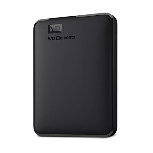 WD 4 TB Elements Portable External Hard Drive - USB 3.0, Black