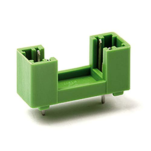 ASI PTF-76-10, 5 x 20 mm PCB Fuse Holder for Printed Circuit Board Mount, 15 mm Pin Spacing, No Center Pin, 10 Amp, 250V, UL (Pack of 10)