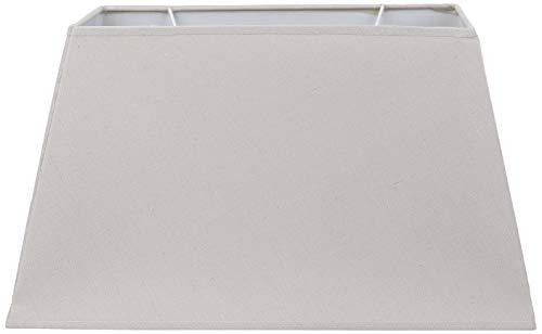Better & Best 40,5 x 24 Topo Lampenschirm aus Leinen, rechteckig, 40 x 24 cm, Farbe unten: 39,5x23 oben: 29,5x18 Höhe: 23 cm