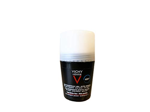 Vichy Homme Deodorant Antitranspirant - Extra Sensitiv 72 H, 50 ml
