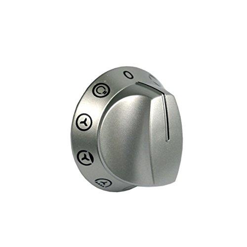 Knebel Drehknopf Drehschalter Schalter Wahlschalter Funktionswahl ohne Temperaturen Herd Original Electrolux Juno 3303576007 330357600 für JEB2536