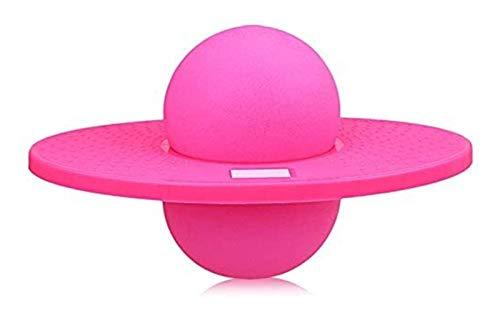 MVAH Store Pogo Ball, Balance Jump Ball Ball Hopper, Balance Pogo Saltando Ejercicio Bounce Space Space Fitness Ball for Niños Adultos (Color : Pink)