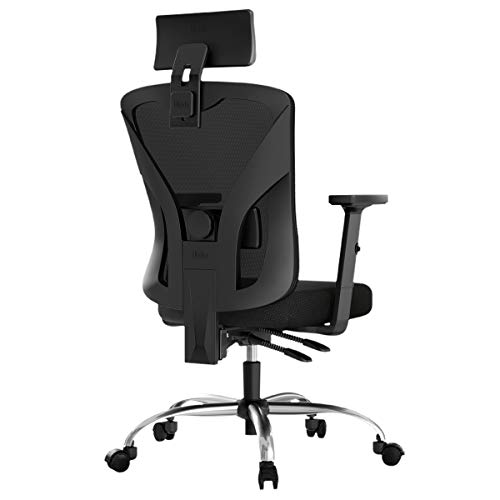 Hbada Ergonomic Office Desk Chair with Adjustable Armrest, Lumbar Support, Headrest and Breathable...