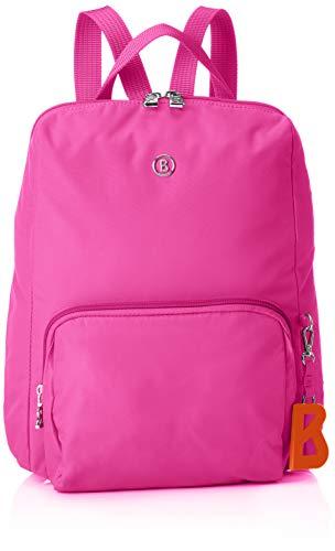 Bogner Damen Verbier Maxi Backpack Mvz Rucksack, Pink (Fuchsia), 4x32x27 cm