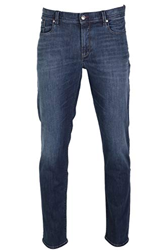 ALBERTO Herren Jeans Pipe Regular Slim fit Dynamic Superfit 33/34