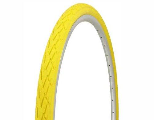 Duro Street Tire 700x38c, Solid Yellow