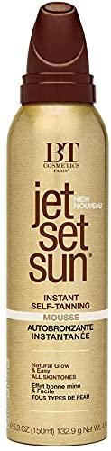 Jet Set Sun Mousse Bronzante, Autobronzant en Mousse, Self Tanning Mousse, Instantannée 150 ml