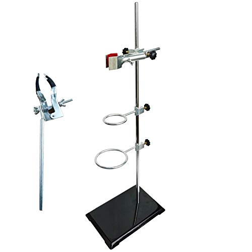 AltraTech Laboratory Grade Stand Support Set, with Coated Base (8.3
