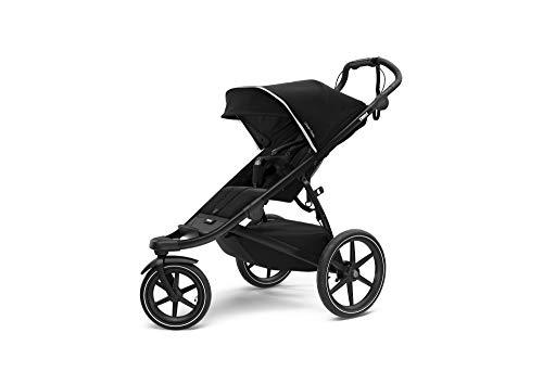 Thule Urban Glide 2 Jogging Stroller, Black/Black Frame