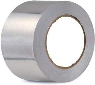 PackBazaar | Aluminium Foil Adhesive Tape (72 mm X 20 m, Silver) (Set of 1)