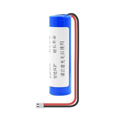MeGgyc 1 Uds 3,7 V 3000 mAh 18650 batería 18650 baterías de Iones de Litio Recargables con Enchufe XH de 2,54mm 2 Pines para RC Boat DIY Power Bank