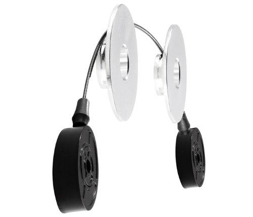 Atdec TH-400-LED Telehook Slim Wire Mount for LED TVs VESA 400x400mm, Black