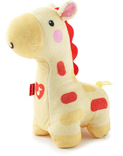 Fisher-Price Soothe & Glow Giraffe, yellow, plush toy with music and light for baby
