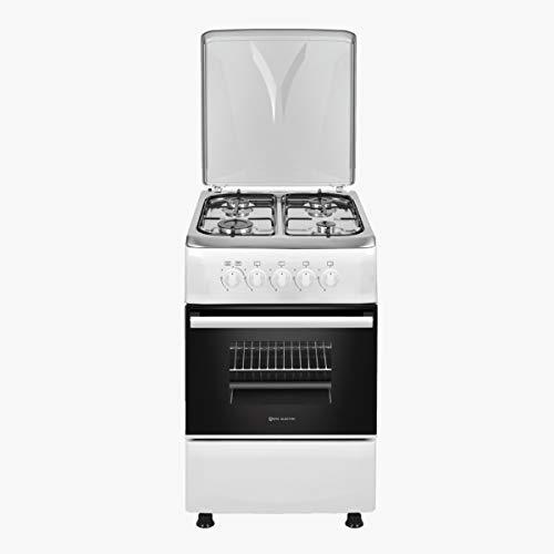 EAS ELECTRIC SMART TECHNOLOGY - Cocina de Gas 50 cm Blanca - EFG556W