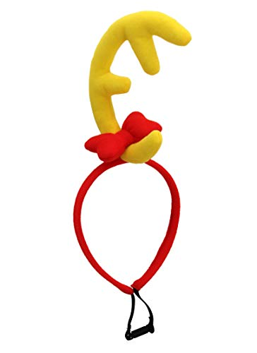elope Dr. Seuss The Grinch Max Headband Red/Yellow