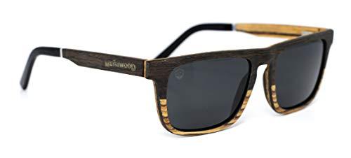 Óculos de Sol Costello Dual, Mafia Wood Exclusive Wear, Adulto Unissex, Bege, M