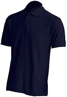 JHK - Polo unisex de manga corta piqué, 100 % algodón, para enfermería, médico, escuela