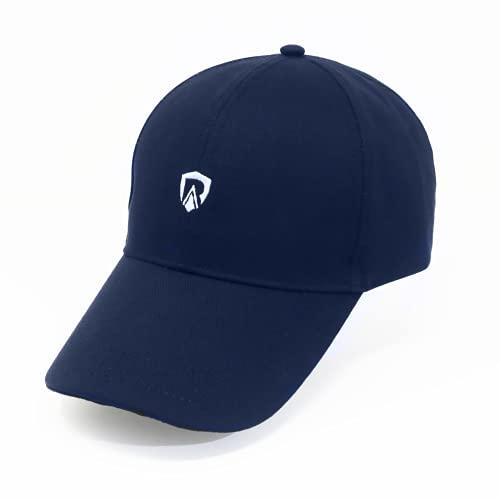 RadiArmor EMF Blocking Hat – Unisex Hut mit EMF-Blocking Liner blockiert über 99% der Hochfrequenz RF Strahlung - Blau - Einheitsgröße