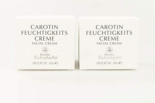 Doctor Eckstein Feuchtigkeitscreme Carotin 2x50 ml Facial Cream Trockene Haut C1001
