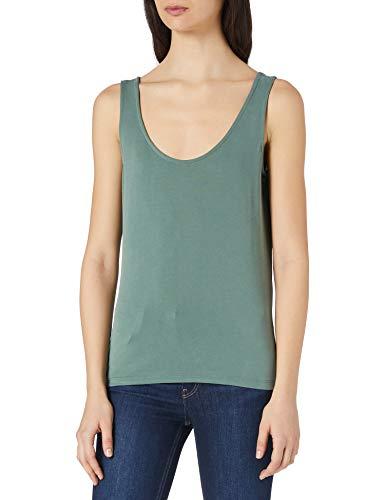 Vero Moda VMFILLI Calia Tank Top GA Noos Camiseta sin Mangas, Laurel Wreath, L para Mujer