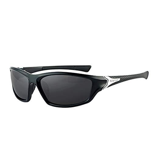 UKKD Gafas De Sol Para Hombre Gafas De Sol Polarizadas Hombres Mujeres Marca Diseño Vintage Masculino Plaza Deportes Gafas De Sol Para Hombres Conducción Sombras Gafas