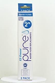Ez-freeze Pure Water Filter Replacements 2 Pack
