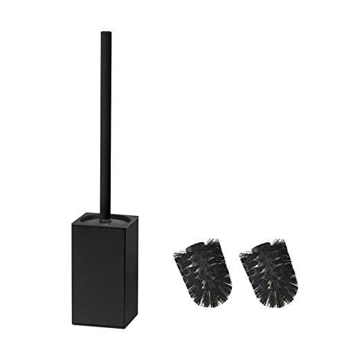 bgl 304 - Porta scopino per WC in acciaio inox quadrato (nero)