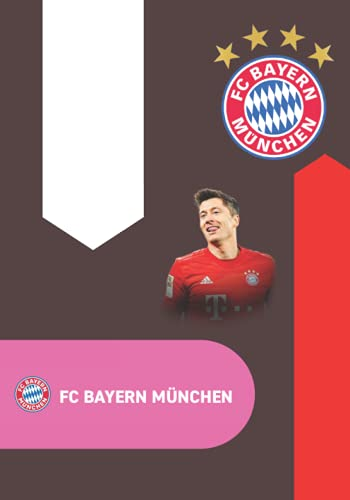 fc bayern münchen: Fußball-Notizbuch I Robert Lewandowski