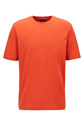 BOSS Tfast Camiseta, Color Naranja Oscuro 803, S para Hombre