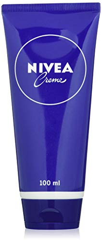 NIVEA Creme Tube Universalpflege (100 ml), klassische Feuchtigkeitscreme für alle Hauttypen, reichhaltige Hautcreme mit pflegendem Eucerit