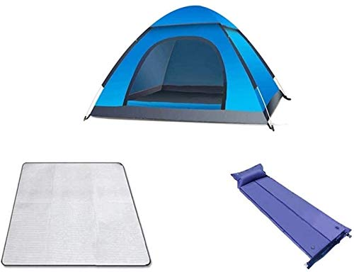 Plztou Tent for Camping Tent Outdoor Double Camping Tent Umbrella Thickened Small House Wild 2 People