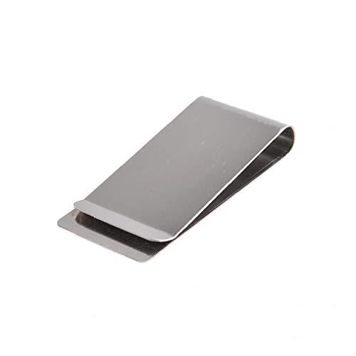 Semplice in metallo comodo pratico soldi in Acciaio Inox Clip Holder Home