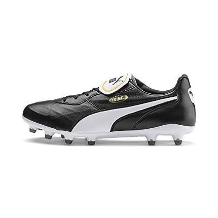 PUMA King Top FG, Zapatillas de Fútbol Unisex Adulto, Negro Black White, 38.5 EU