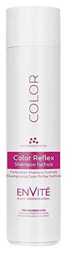 Dusy Envite Color Reflex Shampoo 250ml Haarshampoo mit Farbpigmenten (1 Stück, Fuchsia)