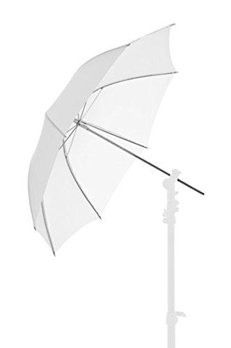 Lastoliet van Manfrotto Doorschijnende Paraplu - 72 cm, Wit