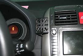 TOYOTA AURIS DashMount Baujahr ab 2007 KFZ Navi Handy Halterung von telebox