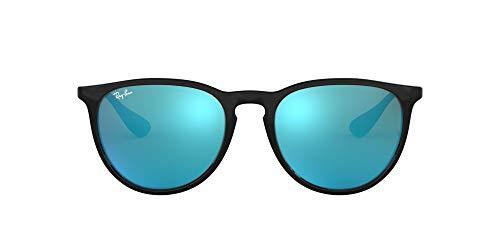 Ray-Ban - lunettes de soleil - RB4171 - Homme - Noir (Gestell: schwarz Glas: blau verspiegelt 601/55) - 54 mm