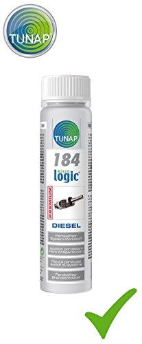 TUNAP Micrologic Premium 184 Filtre à particules diesel Protection DPF 100 ml