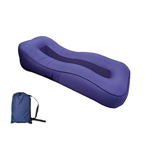Gonfiabile Lounger, Impermeabile Pigro Lounger Air Lounger, Pigro Letto Gonfiabile, Gonfiato Bed Aria Divano Air Couch Per Backyard, Piscina E Camping Picnic