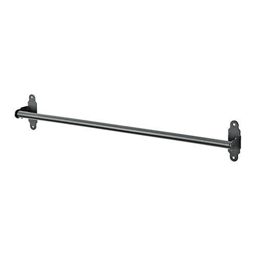 IKEA FINTORP - Estantes de cocina y baño para restaurante, ganchos, elegir el artículo a continuación (tipo de artículo: riel de Hultarp negro 60 cm)