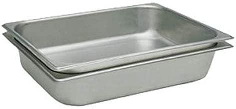 Update International STP-502 Steam Table Pan, 25 Gauge, Half Size, 2.5-